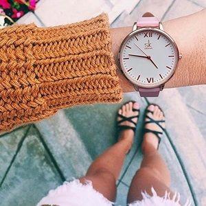 sK Accessories - • Pink Wristwatch